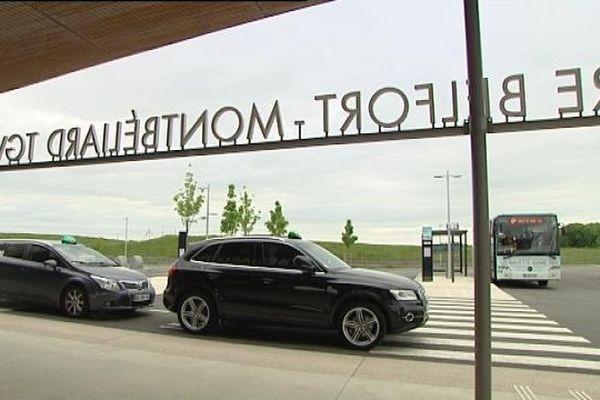 La gare de Belfort-Montbéliard TGV, un marché qui intéresse les taxis de l'aire urbaine