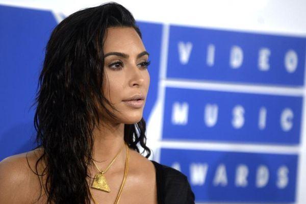 La star américaine de téléréalité Kim Kardashian.