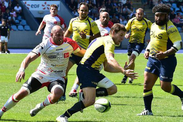 Lors du match aller contre Nevers