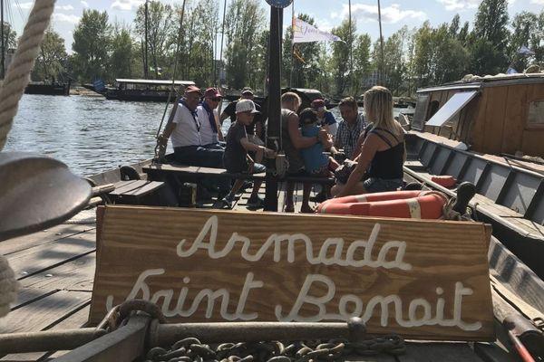 L'Armada Saint-Benoit, parmi le village des mariniers, au Festival de la Loire d'Orléans.
