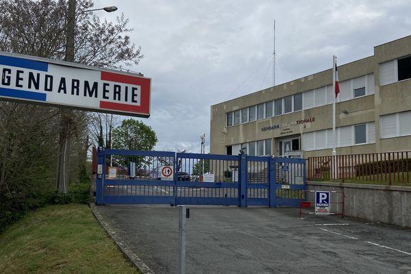 L'escadron de gendarmerie mobile de Périgueux, elle aussi mobilisée en cette période de confinement.
