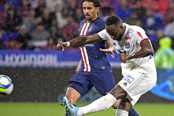 Foot Ligue 1 OL-PSG le 22/09/2019 - Groupama Stadium à Décines, Moussa Dembélé lors de la 6ème journée de championnat