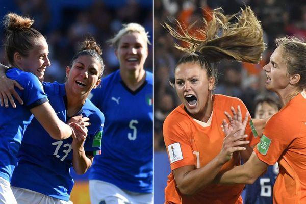 Italiennes et Néerlandaises s'affrontent pour la première fois en Coupe du monde féminine de football.