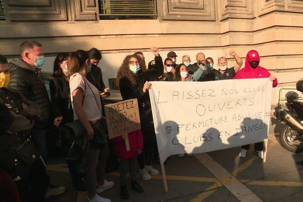 Covid : Manifestation des gérants de salles de sport le 29 septembre 2020 à Marseille