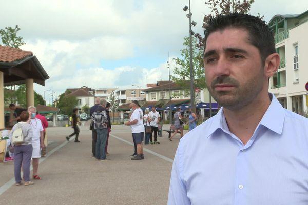 JulienBazus, candidat de la gauche à Saint-Paul-Lès-Dax dans les Landes