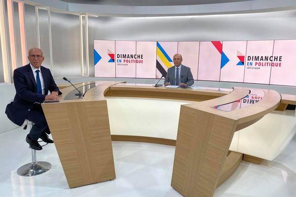 Invité de rentrée de ce Dimanche en Politique en Côte d'Azur : Eric Ciotti