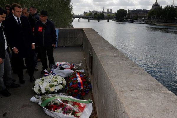 1er mai 1998 : un marnais poussait Brahim Bouarram dans la Seine