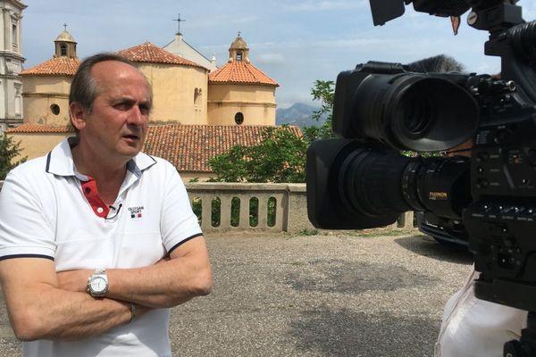 Pierre Guidoni, maire de Calenzana (Haute-Corse)