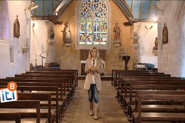 Une étape des Itinéraires de Bretagne  ou quand l'érotisme s'exposait dans les chapelles...
