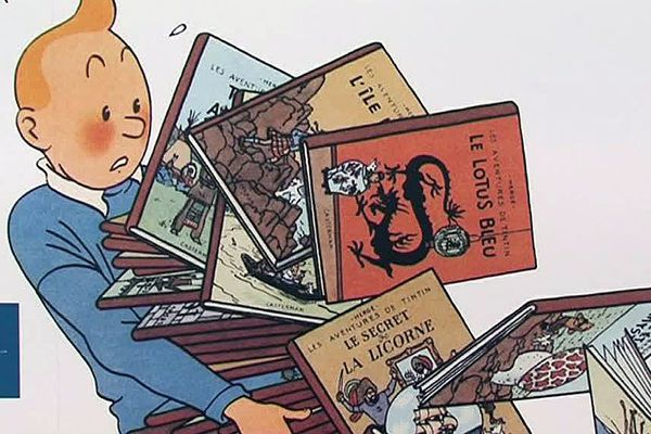 Leucate (Aude) - l'expo Tintin est gratuite, jusqu'au 10 septembre