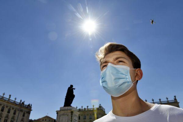 Malgré la chaleur, le port du masque reste obligatoire !