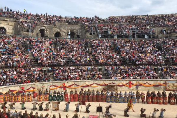 La ville de Nîmes redevient romaine le temps d'un week-end - 28 avril 2018