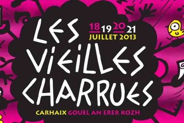 éléments du visuel de l'édition 2013 des Vielles Charrues