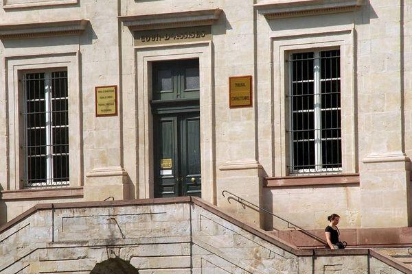 Le palais de justice d'Albi.