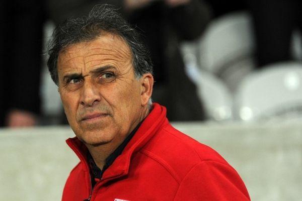 Victor Zvunka - entraîneur de Nîmes - janvier 2013.