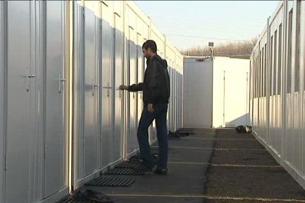 Réfugié au Centre d'accueil et d'orientation de Caen (Calvados)