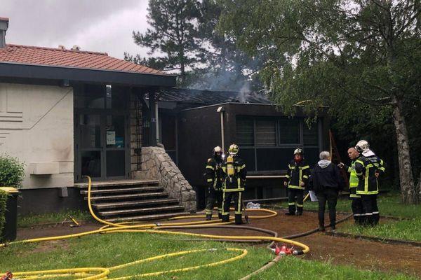 Samedi 23 mai, un incendie s'est déclaré dans une entreprise de Brives-Charensac en Haute-Loire.