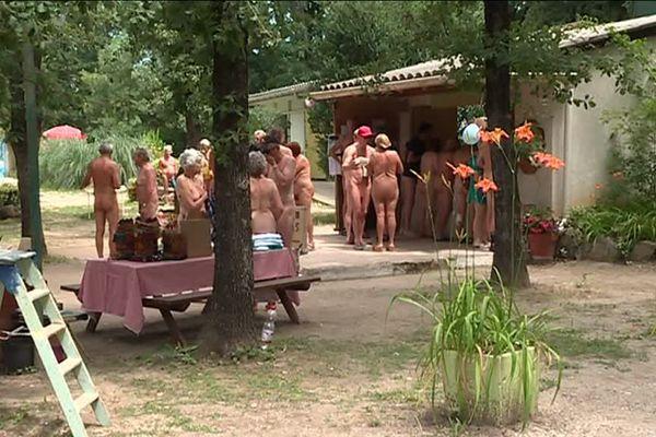 Le club naturiste de Sardan dans le Gard - Juin 2018
