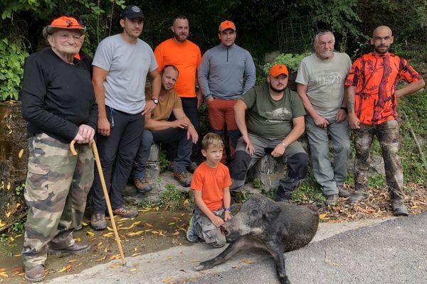 La chasse aux sangliers, l'occasion de se retrouver toutes générations confondues