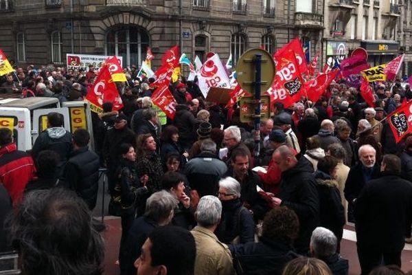 Manifestation à Limoges (illustration)