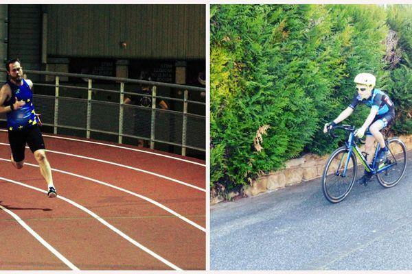 Deux Alsaciens participent aux Jeux nationaux des transplantés à Dôle.