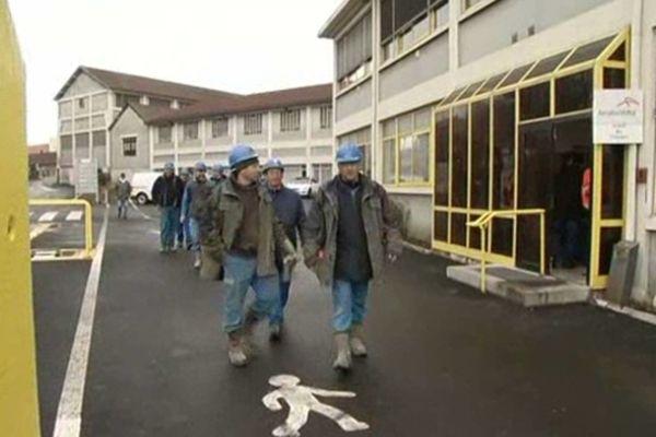 A Saint Chély d'Apcher, en Lozère, le groupeArcelor Mittal emploie 200 personnes