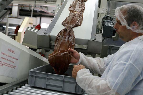 Une chaîne de production de carambar