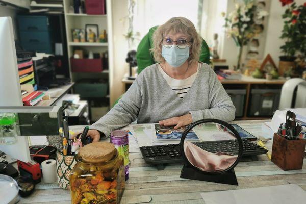 Christine Hochard, médecin généraliste sur l'le-aux-Moines.