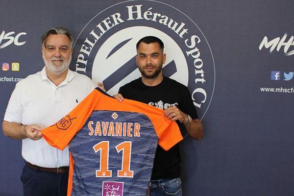 Ligue 1 : le Nîmois Teji Savanier signe à Montpellier - 2 juillet 2019.