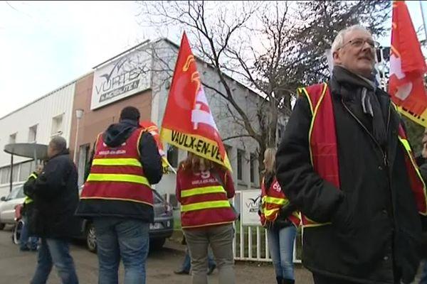 En décembre 2016, les salariés de Vortex avaient manifesté devant le siège à Saint-Jean de Védas (Hérault) contre des décomptes horaires de travail faussés selon eux et qui ne comptabilisaient pas toutes leurs heures de travail.