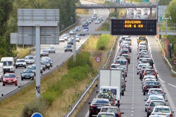 Le trafic sera très chargé pendant ce week-end prolongé