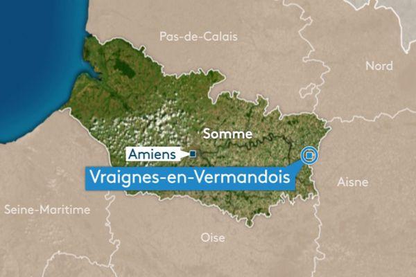 L'accident s'est produit vers 23 heures le vendredi 28 juin près de Péronne, dans la Somme.
