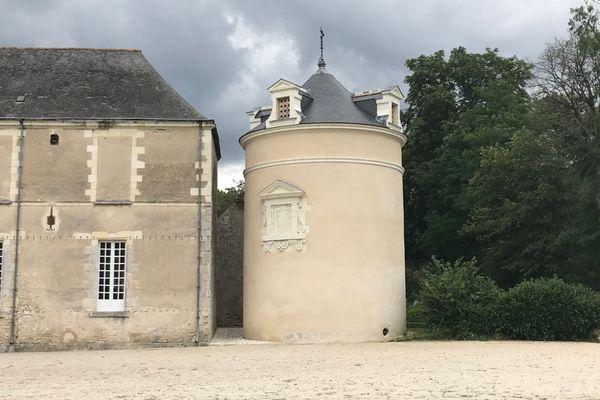 Le colombier du château de Villesavin restauré en 2019