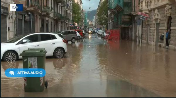 L'Italie n'a pas été épargnée par les pluies diluviennes particulièrement du le long des côtes de Savone au sud-ouest de Gênes
