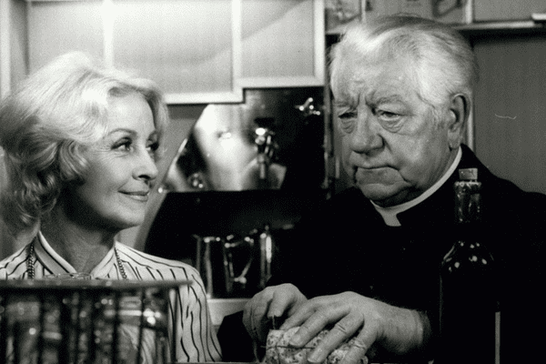 1976 - Danielle Darrieux et Jean Gabin dans ''L'Année Sainte'