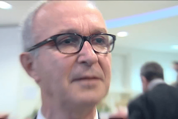 Bernard Marboeuf au Conseil Régional