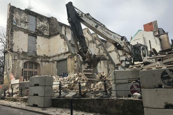 Il ne restera bientôt plus rien de l'ancien Hôtel de la Duchesse Anne à Nantes.