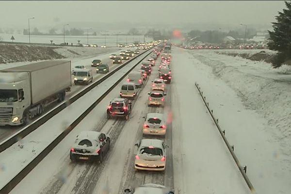 Un épisode de neige est annoncé, la circulation sera perturbée