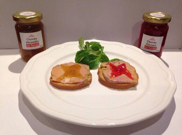 Du chutney au safran d'Alsace pour relever le gout du foie gras