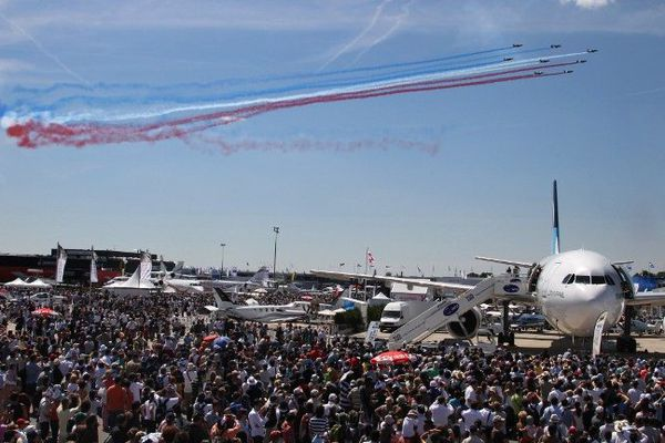 Au salon du Bourget 2015.
