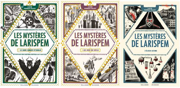 Les mystères de Larispem de Lucie Pierrat-Pajot