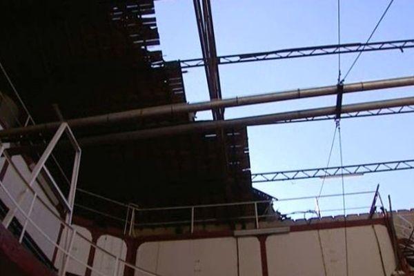 A Gaujac, la mini tornade qui a sévit dans le Gard dimanche après midi a emporté 50 mètres 2 de toiture