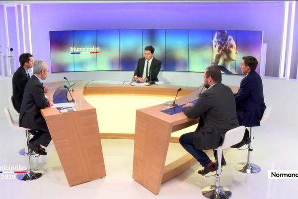 Revoir le débat des candidats à la mairie de Dieppe.