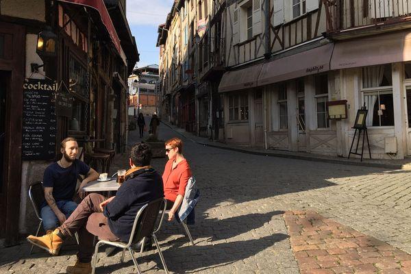 La rue de la Boucherie à Limoges