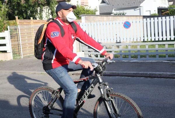 Le vélo comme geste barrière pour lutter contre l'épidémie de coronavirus Covid-19