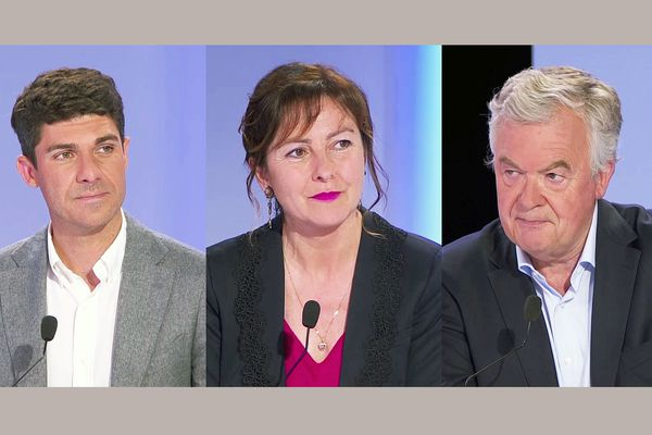 Jeudi 24 juin, à partir de 17h45, France 3 Occitanie organise le débat de l'entre-deux-tours des élections régionales entre Aurélien Pradié (LR) Carole Delga (PS) et Jean-Paul Garraud (RN).