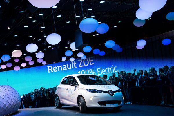 La nouvelle version de la Renault Zoe est l'une des grandes avancées dans le monde de l'automobile propre, en ce Mondial 2016.