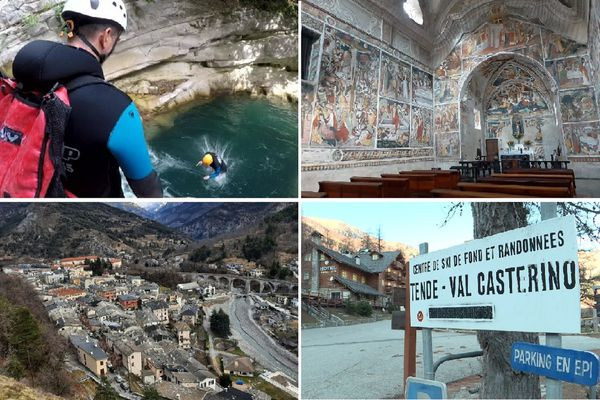 La vallée de la Roya propose de nombreuses activités sportives et culturelles.