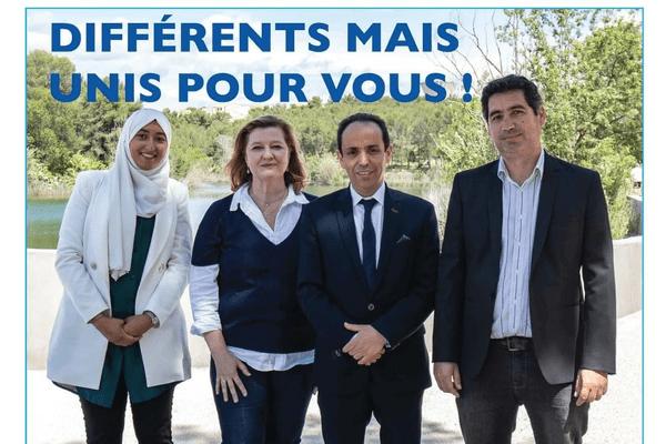 Le secrétaire général de LREM exige le retrait de cette photo de campagne sur le premier canton de Montpellier sous peine de retirer le soutien du parti à la liste.