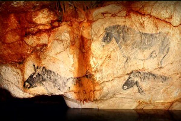 Les chevaux de la grotte Cosquer